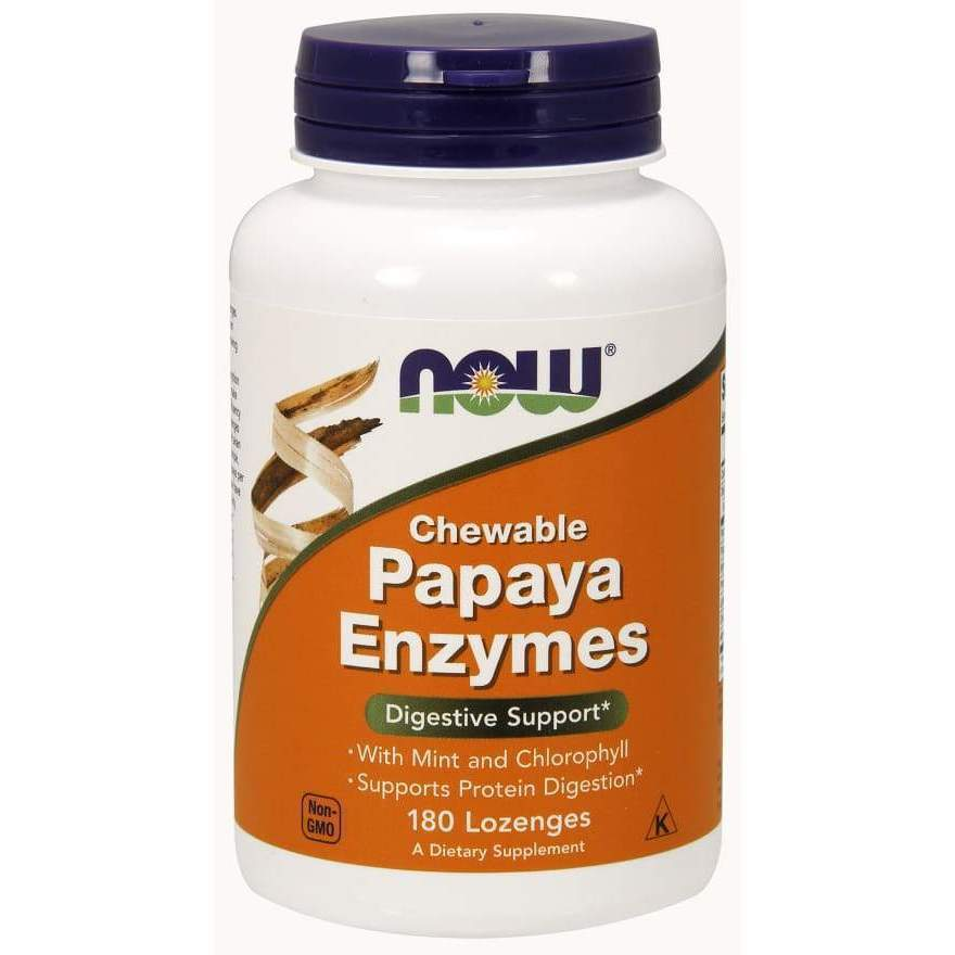 PAPAYA ENZYME CHEWABLE 180 TABS - Earthly Nutrition