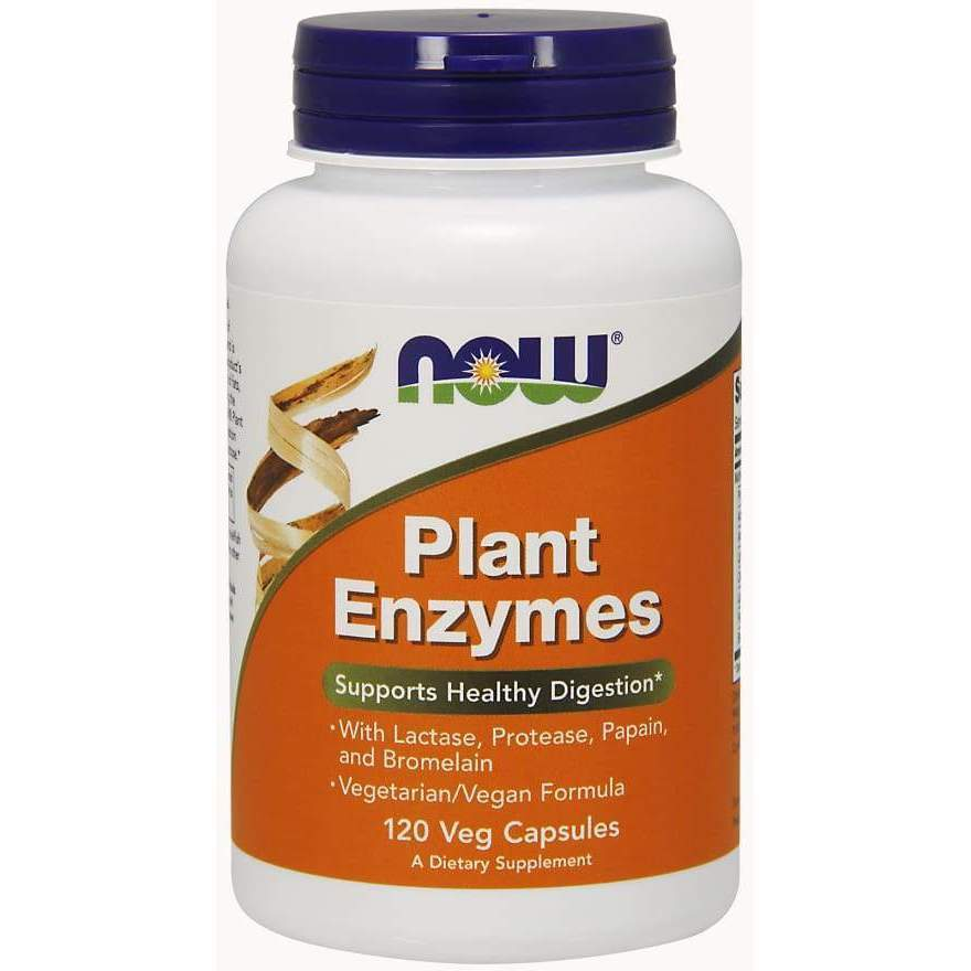 PLANT ENZYMES 120 VCAPS - Earthly Nutrition
