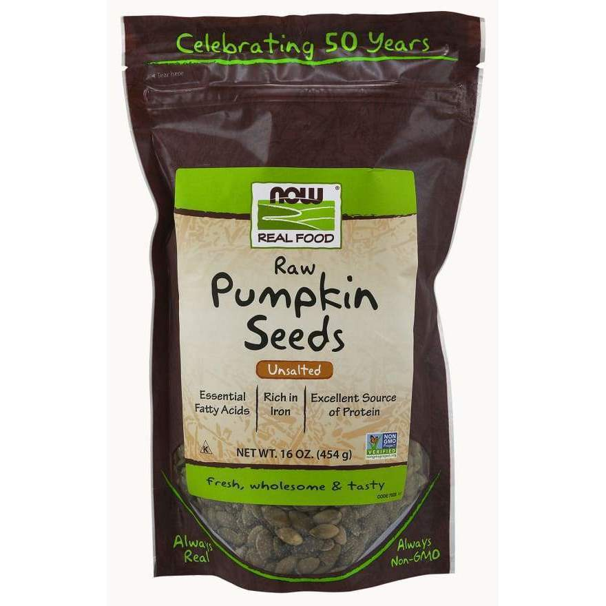 PUMPKIN SEEDS RAW 1 LB - Earthly Nutrition