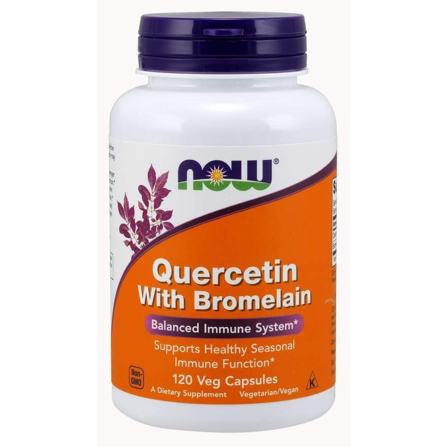 QUERCETIN W/BROMELAIN 120 VCAPS - Earthly Nutrition