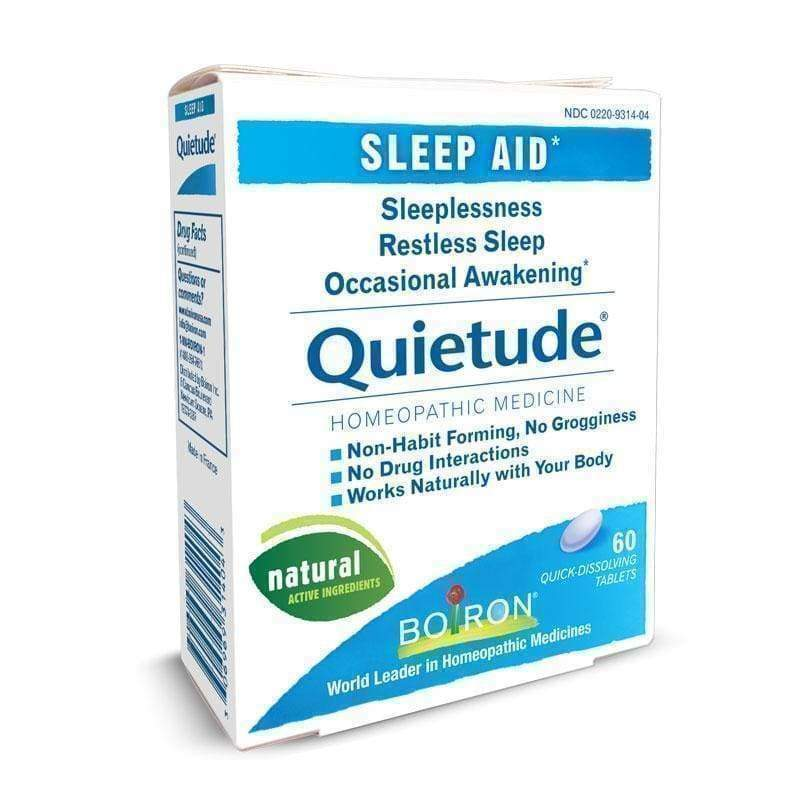 Quietude 60 Tabs - Boiron - Earthly Nutrition