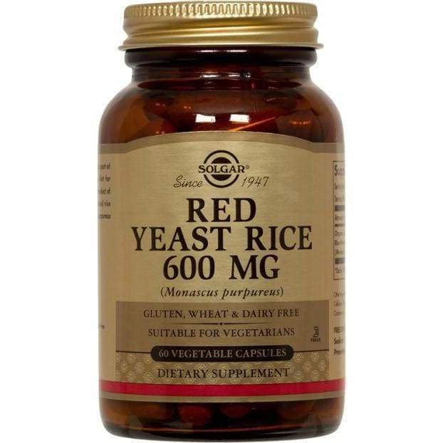 Red Yeast - NPG/Solgar - Earthly Nutrition
