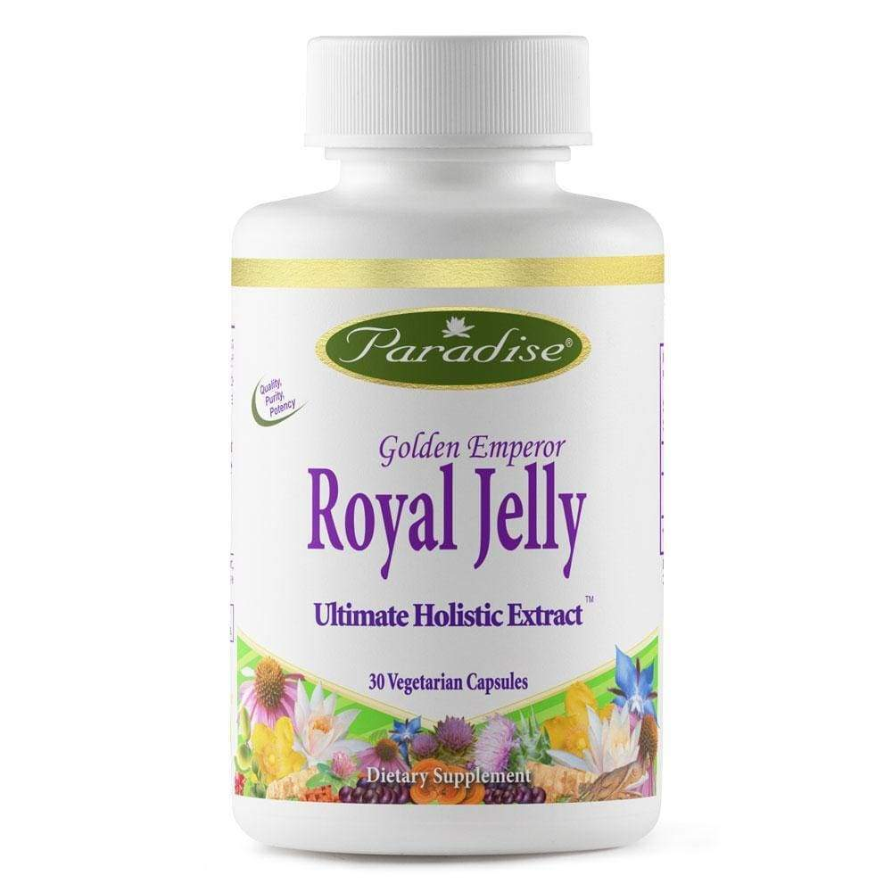 Royal Jelly 30 vcap - Paradise Herbs - Earthly Nutrition