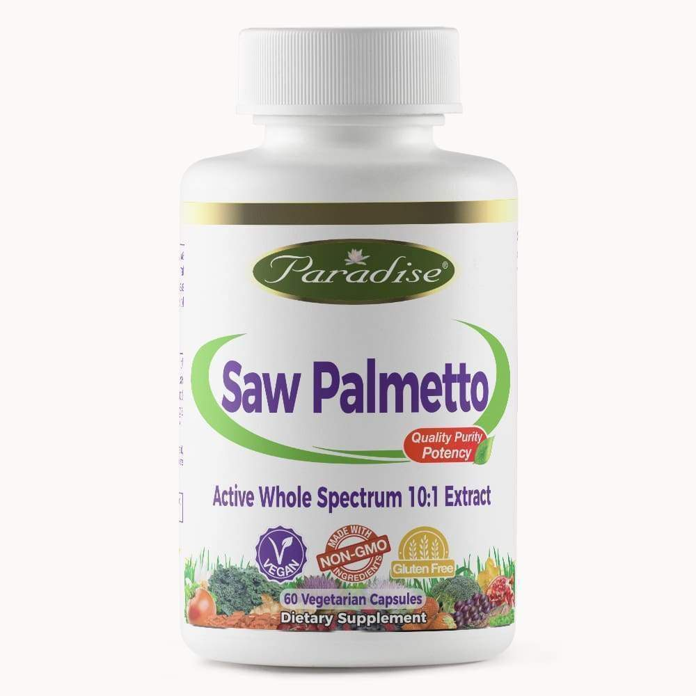 Saw Palmetto 30 vcap - Paradise Herbs - Earthly Nutrition