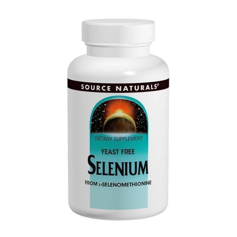 Selenium 200 mcg Yeast Free 60 Tablets - Threshold - Earthly Nutrition