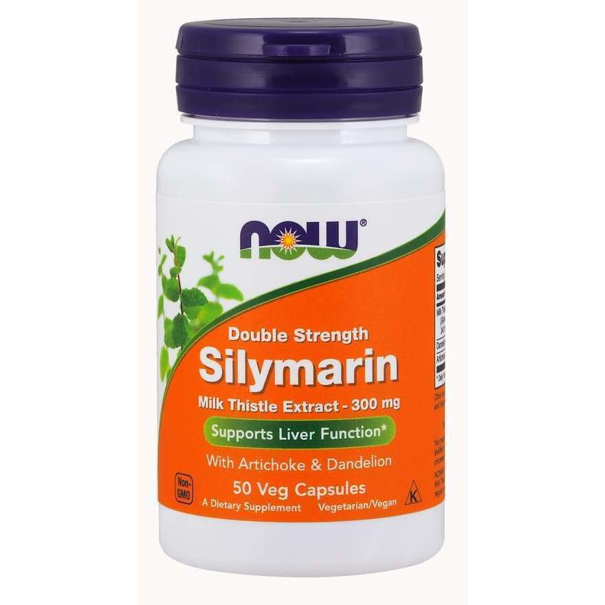 SILYMARIN MILK THISTLE 300mg 200 VCAPS - Earthly Nutrition
