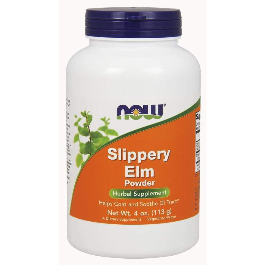 SLIPPERY ELM POWDER 4 OZ - Earthly Nutrition