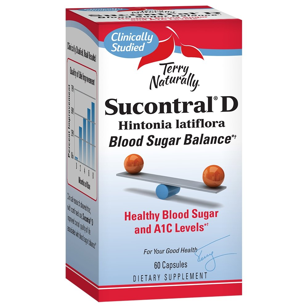 Sucontral D, 60 capsules - Earthly Nutrition