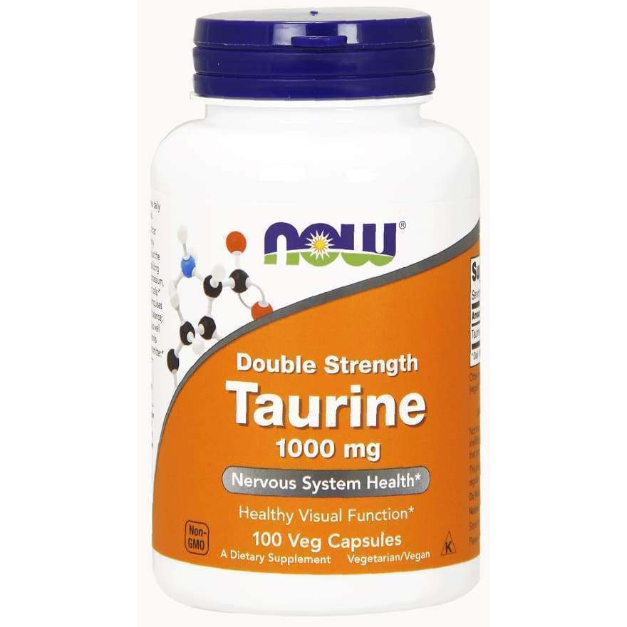TAURINE 1000mg 100 VCAPS - Earthly Nutrition