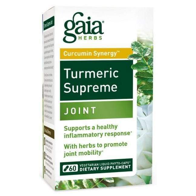 Turmeric Supreme Joint 120 vcap - Gaia - Earthly Nutrition