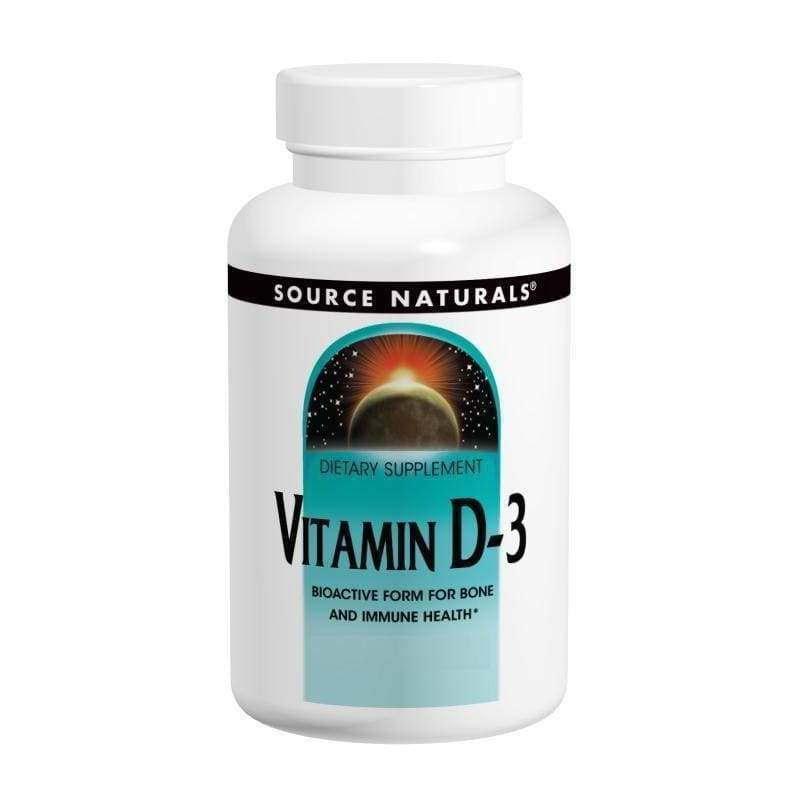 Vitamin D 400 IU 200 Tablets - Threshold - Earthly Nutrition