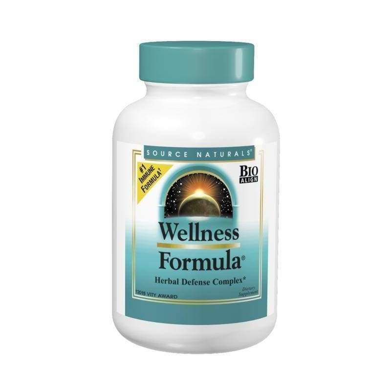 Wellness Formula 120 Caps - Source Naturals - Earthly Nutrition