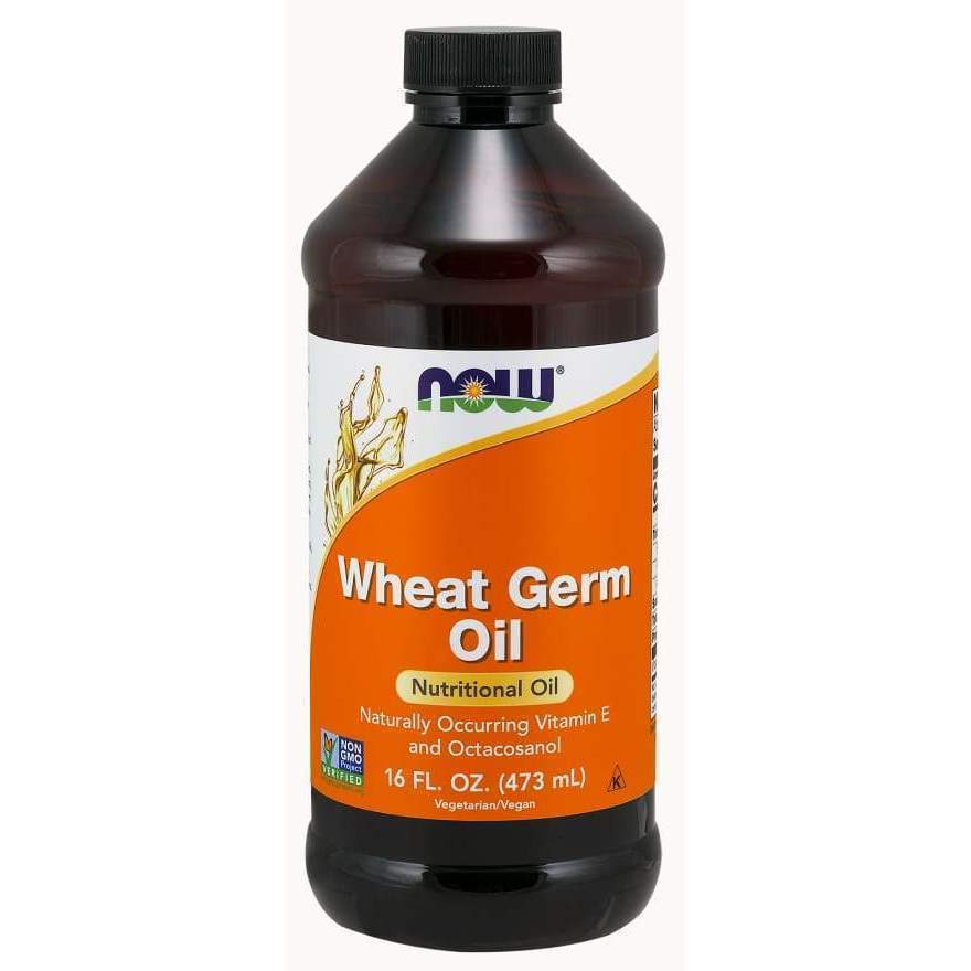 Wheat Germ Oil 16 oz - MSRP $13.99 - Earthly Nutrition