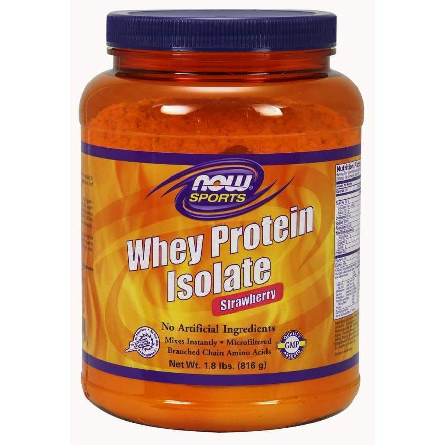 Whey Protein Iso Straw 1.8 lbs - MSRP $44.99 - Earthly Nutrition