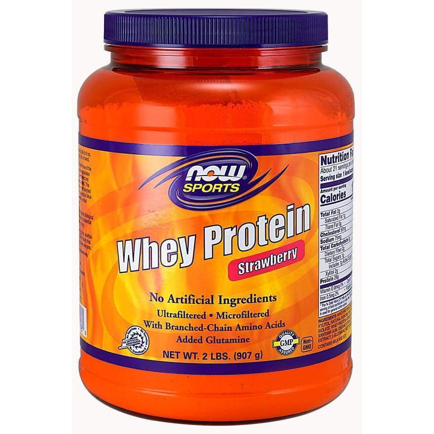 Whey Protein Straw 2 lbs - MSRP $34.99 - Earthly Nutrition