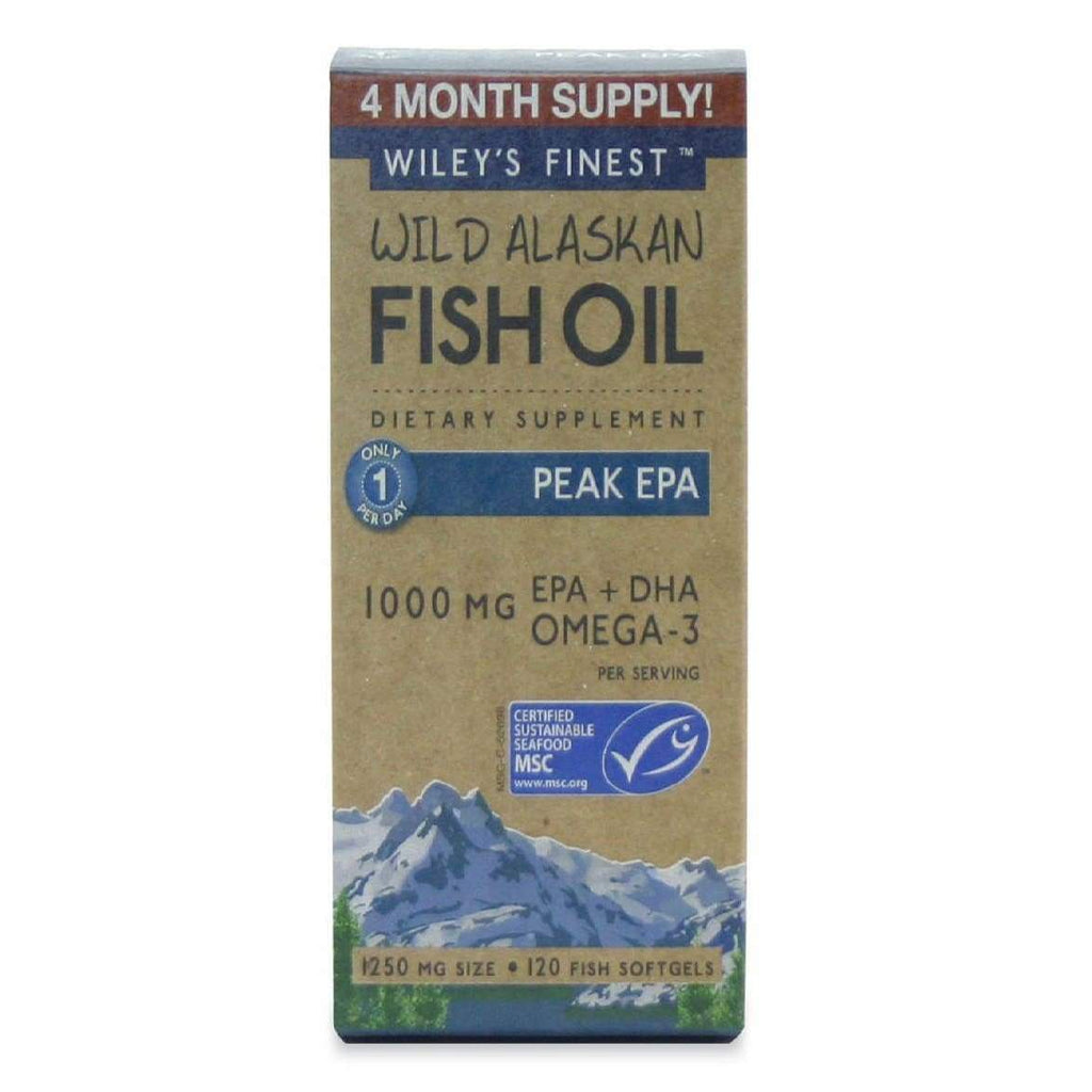 Wild Alaskan Peak EPA, 120 Softgels - Earthly Nutrition