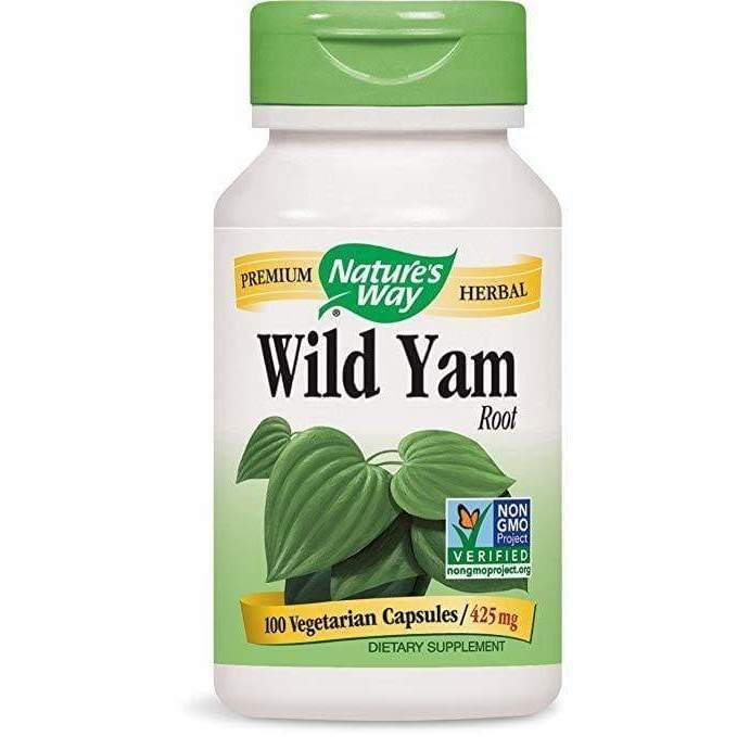 Wild Yam 100 cap - Schwabe - Earthly Nutrition