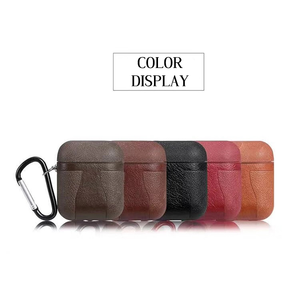Reverse Hook AirPods Case PU Leather