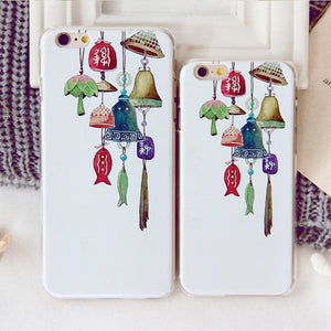 Japanese and Korean Wind Chimes Painted iPhone Case