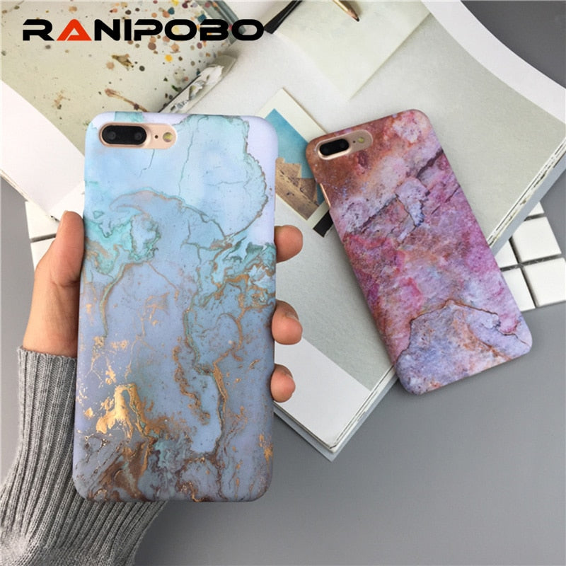 Artistic Marble Pattern iPhone Case