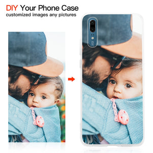Customized DIY Soft Clear Cover Case For iPhone