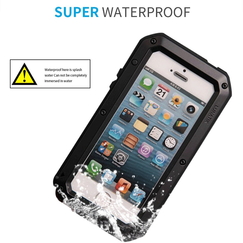 Fully Covered Shockproof iPhone Case