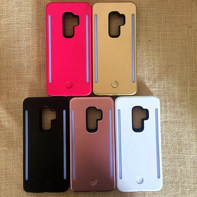 Brighter Front and Rear LED Light For Selfie Phone Case