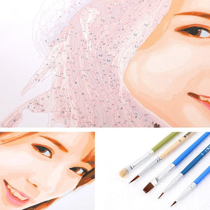 Frameless Customize Oil Paintings DIY Drawing Coloring