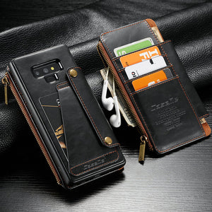 Detachable iPhone Case With Zipper Pockets