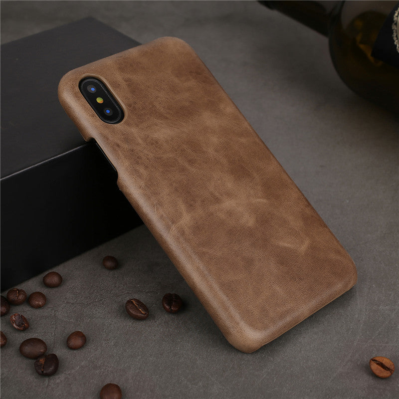 Genuine Cow Leather Cases for iPhone