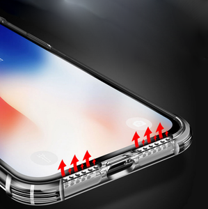 Great Audio Punch Holes on Soft Transparent TPU iPhone Case