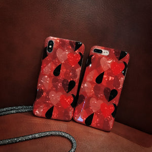 Famous Hearts for iPhone Case