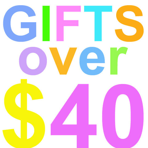 Gifts over $40
