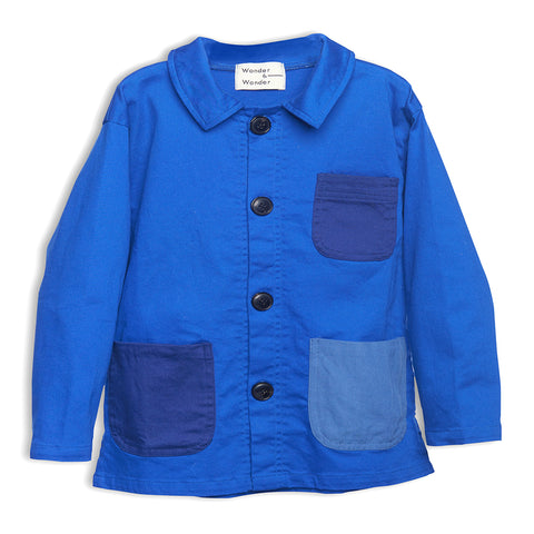 Worker Jacket French Blue