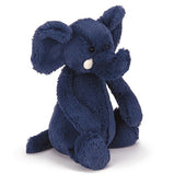 Jellycat bashful elephant blue med