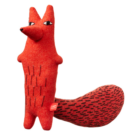 Cyril Squirrel Fox orange
