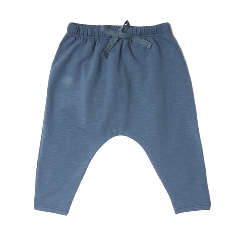 owl logo pant orion blue