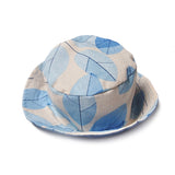 Bucket hat Leaf blue