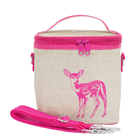 Small cooler bag fawn pink