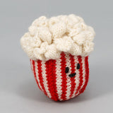 Dog toy- Popcorn hand knit
