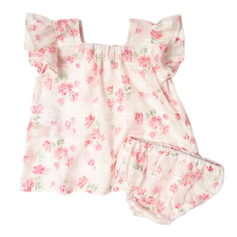 Akachan dress set Retro chx