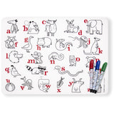 modern twist mark mat set Alphabet