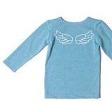 wings stripe l/s tee