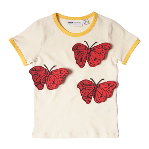 Mini Rodini Butterflies tee