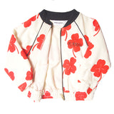 Clover all over print jacket