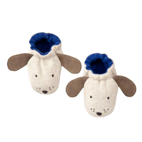 meri meri baby booties dog
