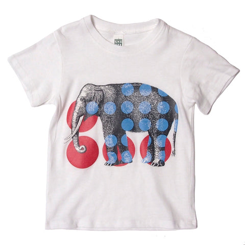 elephant dots tee toddler