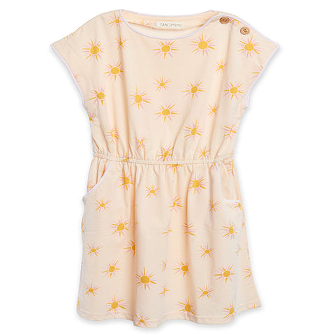 Siaomimi Maddie Dress Cream Sun.