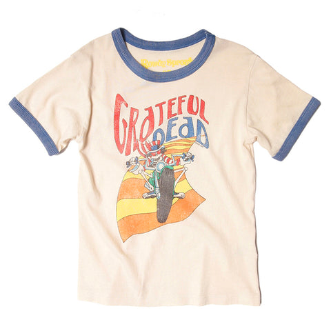 Grateful Dead ringer tee is simple, stylish and extra soft.
