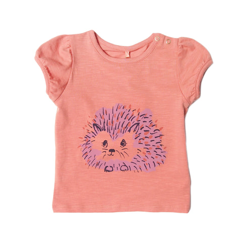 Frannie puff short sleeve tee from Soft Gallery with Hedgy